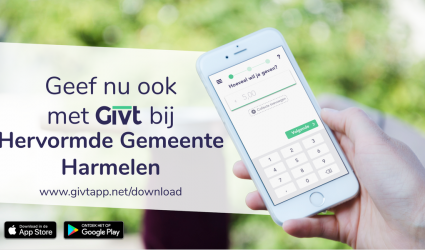 Digitaal collecteren met GIVT (download de app)